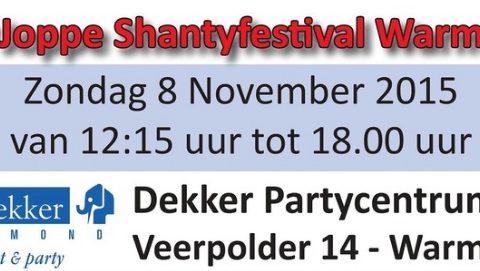 't Joppe Shantyfestival Warmond 2015